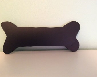 Dog bone silhouette chalkboard or blackboard