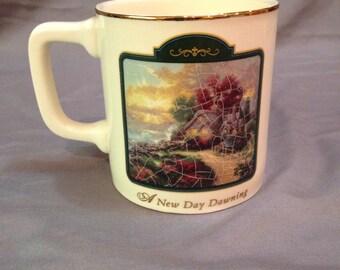 Thomas Kinkade A New Day Dawning Mug