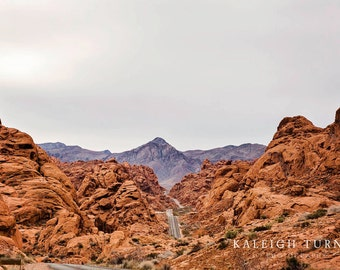 Valley of Fire National Park Print Canyon Print Nevada Print Home Decor Prints & Canvas