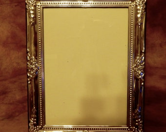 Vintage Picture frame , Silver Plated, shabby chic, Photo frame.