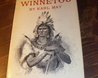 Winnetou By Karl May Soft Cover 1969 It's Rare Book And Highly Collectible (Printed In German)