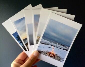 Seaside - Pack of 6 Postcards