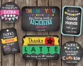 50% OFF SALE Teacher Appreciation BUNDLE- Gifts - Printable Card - Editable - Instant Download - Gift Card Holder