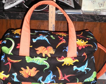 Dinosaur Diaper Bag with Changing Pad