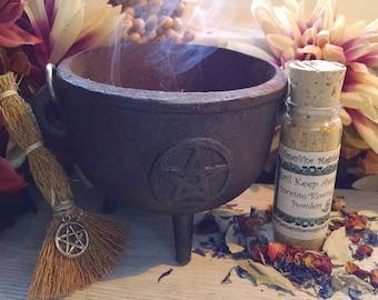 Evil Keep Away Incense Hoodoo Blowing Powders