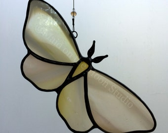 Stained Glass Moth Butterfly