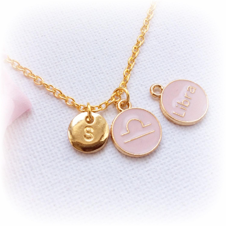 libra zodiac sign astrology necklace libra by statementmadeuk