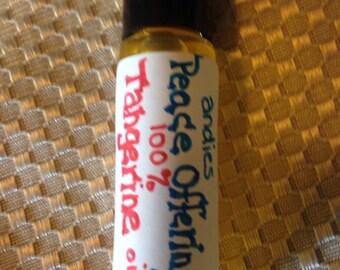100% Tangerine essential oil