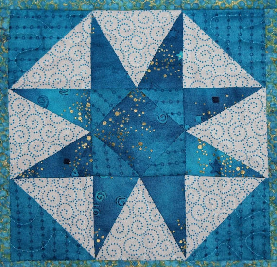 Storm At Sea Paper Pieced Pdf Quilt Pattern Easy