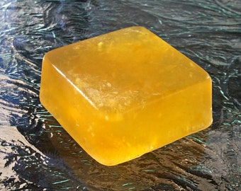 Orange Soap | Handmade Soap | Natural Handmade Soap | With Real Orange and Orange Fragrance Oil (1.2oz to 1.5oz)