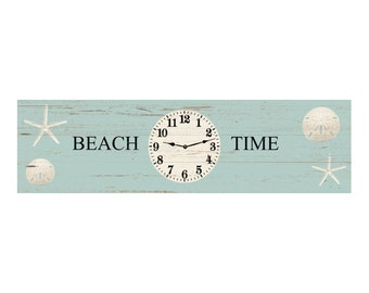 Beach Clock- Beach Wall Clock