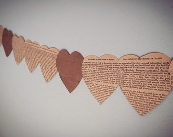 Heart Bunting – Perfect for Weddings, Valentines and Engagement Parties