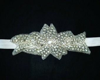 Headband with Jewels beautiful for weddings or birthdays