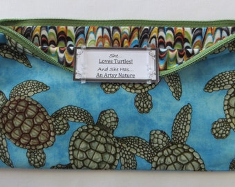 Persette #296 Personalized Zippered Organizing Pouch