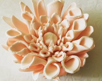 4 Dahlia Fondant Flowers II Fondant Dahlias Gumpaste Flowers Gumpaste Dahlias Cake Topper Wedding Cake Topper Cake Decoration Ebile Flowers