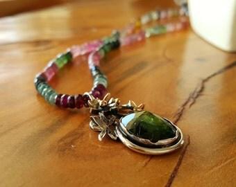 Tourmaline Necklace - Tourmaline Jewelry