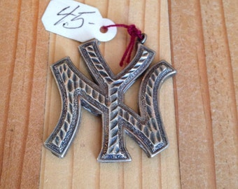 NY Sterling Silver Pendant