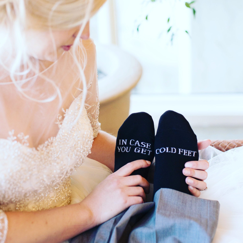 Cold feet socks groom socks funny wedding socks in case you cold feet socks groom socks funny wedding socks in case you get cold feet bachelor party gift grooms wedding socks funny socks junglespirit Image collections