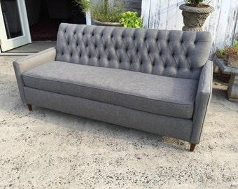 "76"" Mid-Century Modern Tufted Sofa- Design 59 inc"