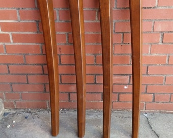 Gathering Table Legs in Mid Century Modern Style- 35 inch tall