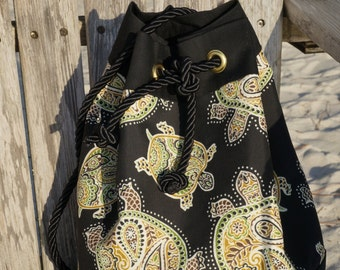Black Sea Turtle Bags