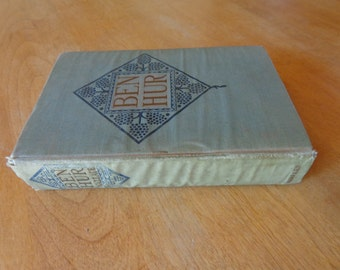 Ben-Hur A Tale of Christ by Lew Wallace 1908 Wallace Memorial Edition