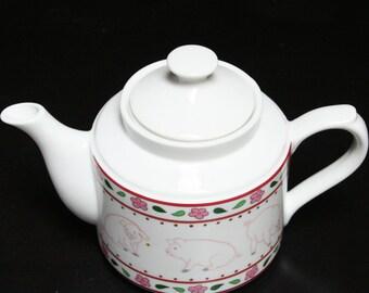 Little Piggies Teapot