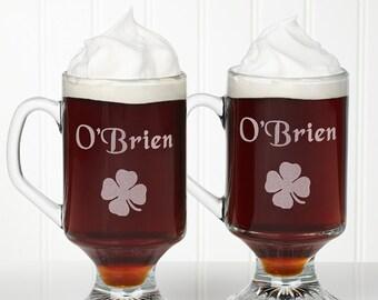 Irish Coffee Personalized Mug Set