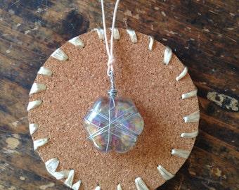 Short Glass Necklace