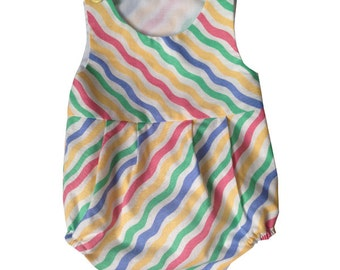 Baby girl Romper - Candy Stripe