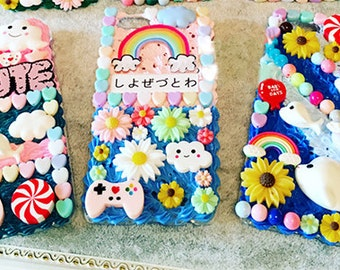 DIY 3D japan style phone case kit
