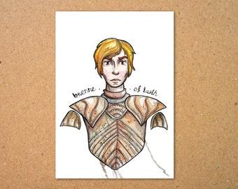 Original Brienne of Tarth Illustration