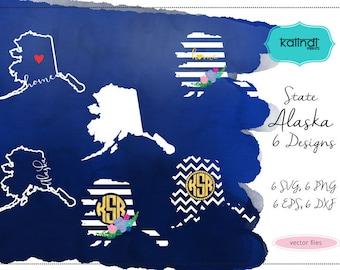 Alaska svg, Alaska  vector file, Alaska  SVG file, svg, Alaska  state, Alaska  state silhouette  ID#st-ak