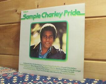 UK Pressing!!!  Charley Pride - Sample Charlie Pride - 33 1/3 Vinyl Record