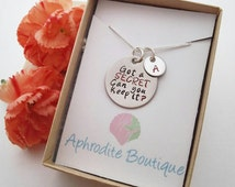 Pretty Little Liars Got a Secret Can You Keep It Necklace PLL A Christmas Gift Sterling Silver Teen Girl Teenager Who is A Christmas Present