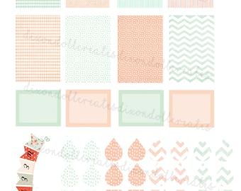planner stickers - happy planner stickers - weekly planner stickers - planner sticker - daily - functional - organizational - stickers