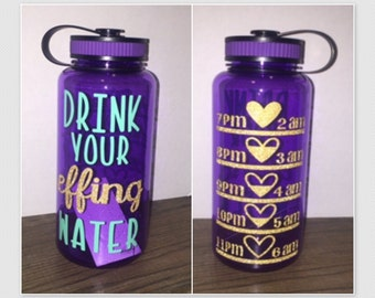 Drink Your Effing Water with PM Tracker