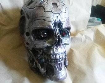 Terminator 4 skull T600 life size