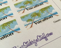 Vacation Stickers for the Classic sized Passion Planners