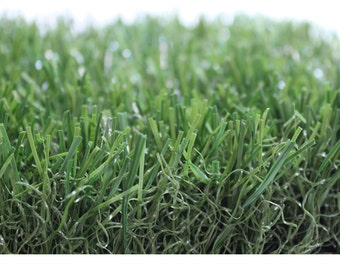 2' X 5' Premium Grass Mat  - Indoor / Outdoor ALL GREEN Artificial Grass. FREE Shipping! Several sizes available!