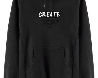 Black Hoodie Sweater