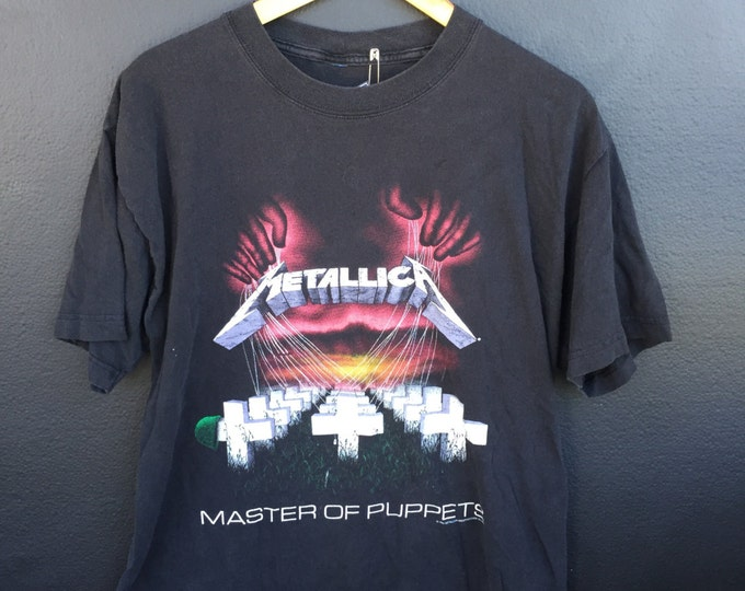 Metallica Master of Puppets 1994 vintage Tshirt