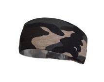 Army Camouflage Headband, workout gym crossfit yoga everyday (NEW PRINT)