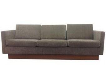 Modern mid century sofa