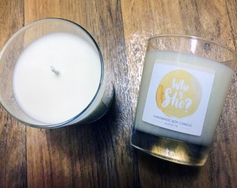 Who Is She? - Very Vanilla Soy Candle 8 oz Jar