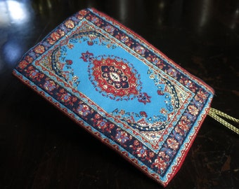 Small wallet with turkish pattern