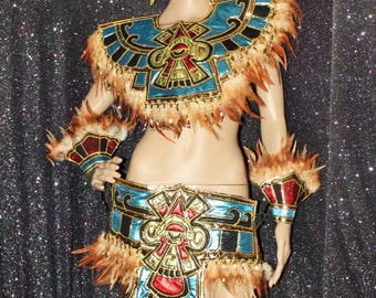 Aztec Mayan Tribal Costume