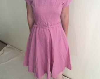 Vintage pink dress size 10