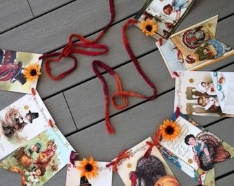 Thanksgiving Sunflower Bunting (on sale!)