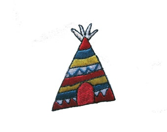 Vintage Teepee Patch